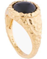Les Nereides Black Onyx Solitaire Ring - Multicolour