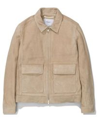 Norse Projects Tyge Suede - Sand - Brown