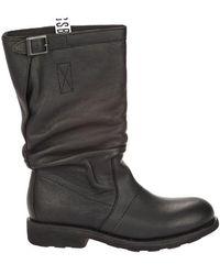 Bikkembergs Flat Shoes - Black