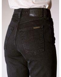 Nudie Jeans Jeans • Breezy Britt • Black Worn 28l