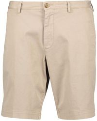 BOSS by Hugo Boss - Mens Slice-short Chino Shorts - Lyst