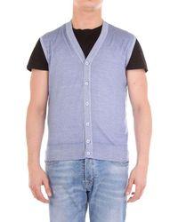 Cruciani Light Wool Vest - Blue