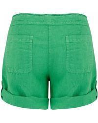 120% Lino 120% Lino Shorts - Green