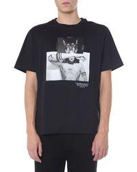 Neil Barrett Doberman Cotton T-shirt - Black