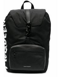 Alexander McQueen - Men's 601374hwc2b1070 Black Polyamide Backpack - Lyst