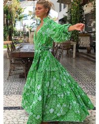 Feather & Find Kaiema Dress - Green