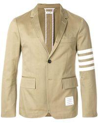 Thom Browne Men's Mju490a03788275 Brown Cotton Blazer