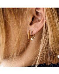 Anna + Nina - Flame Earring - Lyst