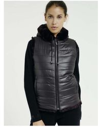 Max & Moi - Max And Moi Noel Fur Gilet - Lyst