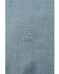 Corneliani Cutaway Collar Shirt (steel Blue)
