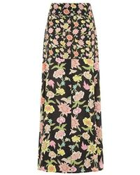 Hayley Menzies Dream In Colour Midaxi Panel Maxi Skirt - Black