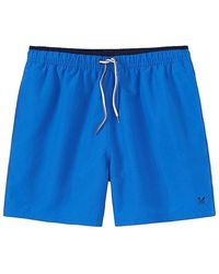 Crew Seapoint Swim Short - Blue
