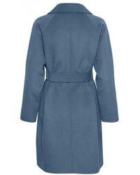 Part Two - Misty Vintage Indigo Wool Coat - Lyst