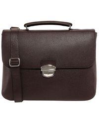 Orciani Leather Handbag - Brown