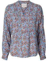 Lolly's Laundry Lollys Laundry Helena Flower Shirt - Blue
