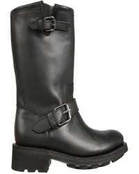 Ash Women's Toxic02waxyblack Black Other Materials Boots