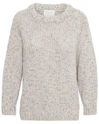 Part Two Ginette Neutral Knit - Grey