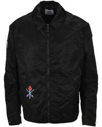 Opening Ceremony Oc Embroidered Varsty Jacket - Black