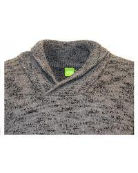 BOSS Green - Simu Shawl Collar Jumper - Lyst