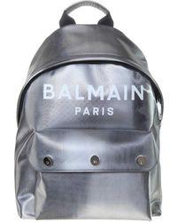 Balmain B-back Led Backpack - Metallic