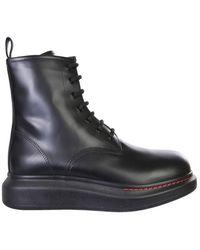 McQ Chelsea Hybrid Boots - Black