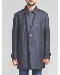 Corneliani Trench Coat (navy) - Blue