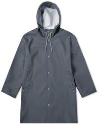 Stutterheim Stockholm Raincoat Charcoal - Grey