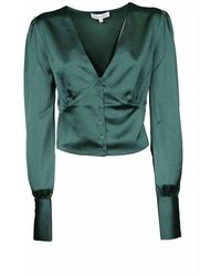 Silvian Heach Croces Blouse - Green -20677blhf