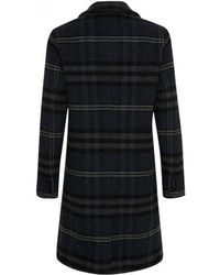 Part Two - Marie Navy Wool Coat - Lyst