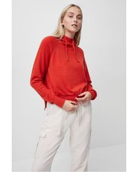 French Connection Lina Vhari Hoodie - Red