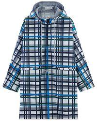 Petit Bateau Women's Easywear Rain Poncho - Blue