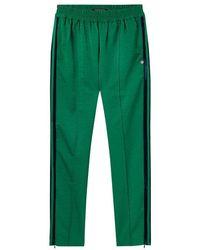 Maison Scotch Velvet Side Pant - Green