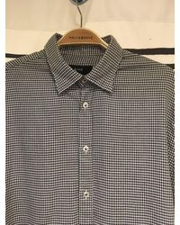 Mr. Shirt In Black And White Dogtooth