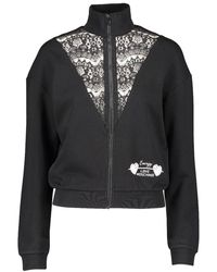 Love Moschino Womens Zip Jacket - Black