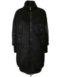 Tatras Wool Coat - Black