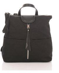Gianni Chiarini Backpack Fabric - Black
