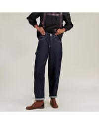 SIDELINE Maya Recycled Denim Jeans Indigo - Blue