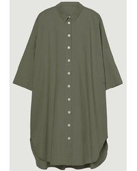 Loreak Mendian Milo Dress Kaki - Green