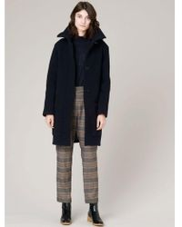 Sessun - Sessun Kipawa Coat In Navy - Lyst