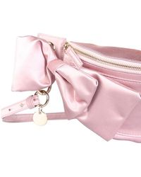 RED Valentino Belt Bag With Maxi Bow - Pink