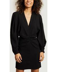 IRO Jaden Long Sleeves Dress Black Paris