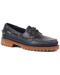 Sebago Ranger Shoe - Waxy, Navy Blue