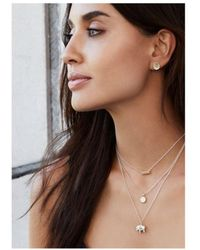 Anna Beck - Small Elephant Charity Necklace - Lyst