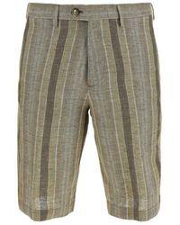 Etro Men's 1w6561058800 Beige Other Materials Shorts - Brown