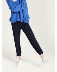 Nrby Anmari Jersey Ankle Tie Pant - Blue