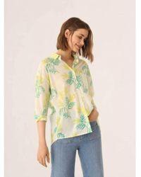 Nice Things - Mimosa Print Shirt - Lyst