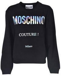 Moschino Couture Sweatshirt - Black