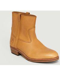 La Botte Gardiane 1/3 Gardian Boots Naturel - Brown