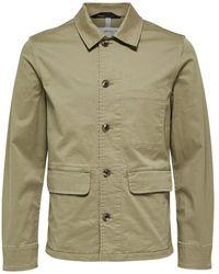 SELECTED Dallas Workwear Jacket Aloe - Green