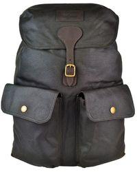 Barbour Beaufort Backpack Olive - Multicolour
